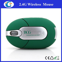Rubber Coated 2.4G Mini Optical Mice Computer Wireless USB Mouse