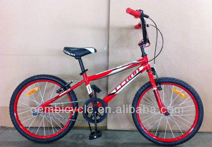 20 inch BMX freestyle 2 wheel kids bike for boy