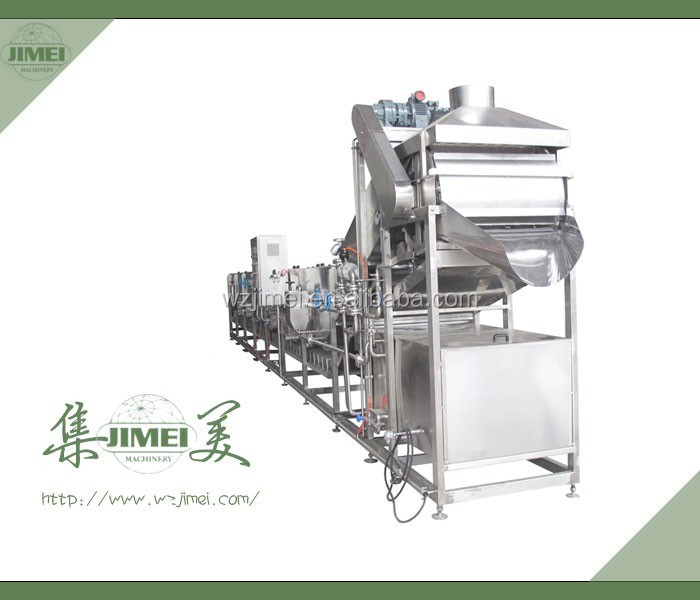 frozen vegetables and fruit processing line