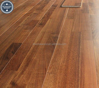 Cheap Chinese factory prices finger jointed black walnuts wooden floor tiles