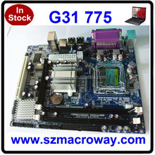 New arrival ddr2 800 667 memory G31 second hand 775 motherboard