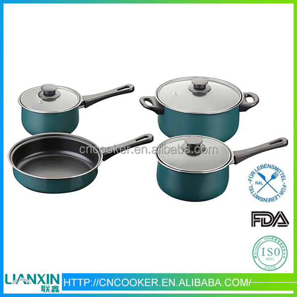 China supplier porcelain enamel cookware