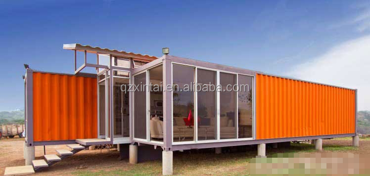 Move-in Strong steel frame Shipping Container Homes/Container Homes for sale