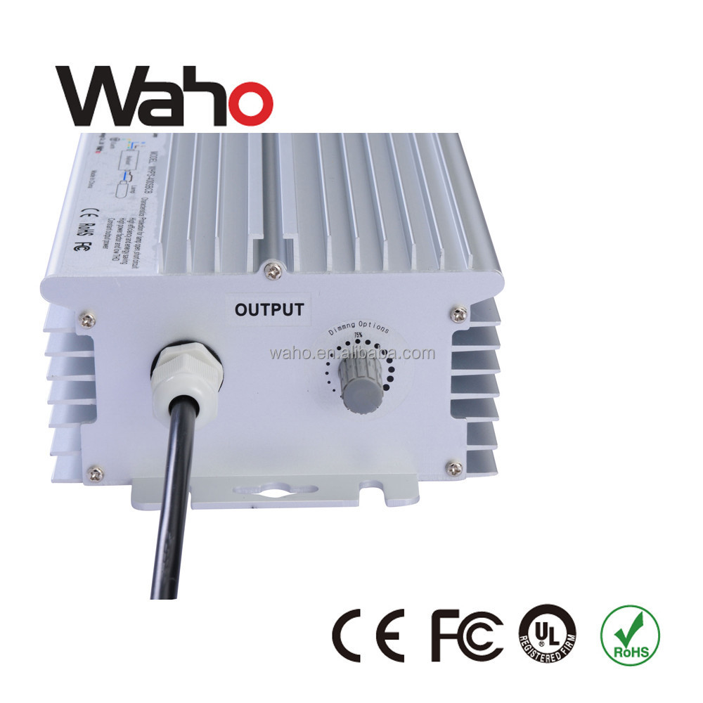 600w 1000w electronic ballast price for HPS/MH/HID lamps , 0-10v/pwm/PLC/auto dimmable, CE UL approval,IP65 IP67