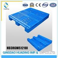 Heavy duty vinyl chloride monomer plastic pallet for transportation