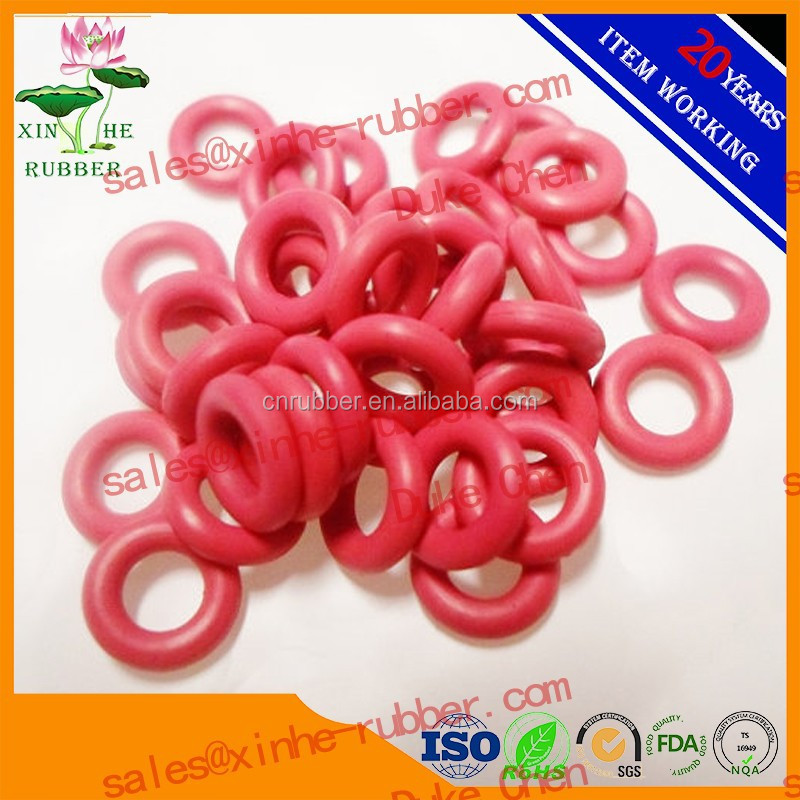 FDA silicone rubber o ring food grade
