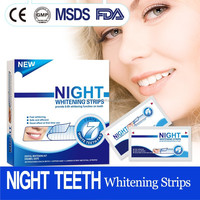 Beautiful smile night use teeth whitening strips best selling in America