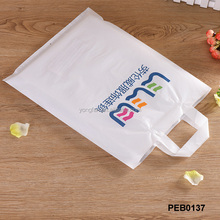 Soft-loop Handle Heat Sealing Shopping Industrial Use Large Plastic Bags