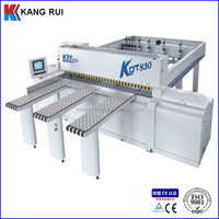 Woodworking sliding table format wood cut panel saw machine in machinery