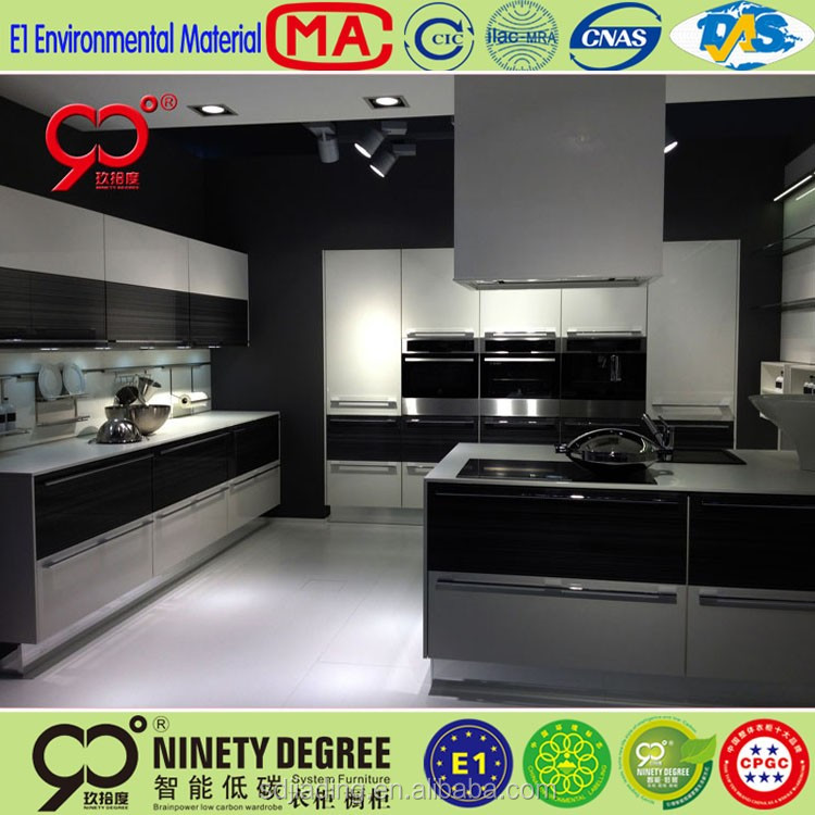 2016 new round model kitchen cabinet autocad with mdf for New model kitchen