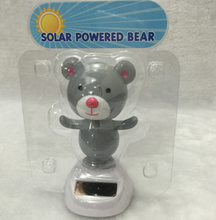 solar power bear solar decorations car ornaments