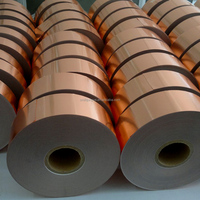 Non-alloy adhesive conductive copper foil tape shielding ground heating system