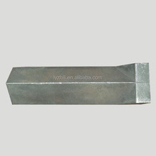qurry mining wear resistant high Mn steel ingot