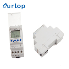 OURTOP Countdown Time Relay Control Module 24 Hour Digital Programmable Electronic Timer