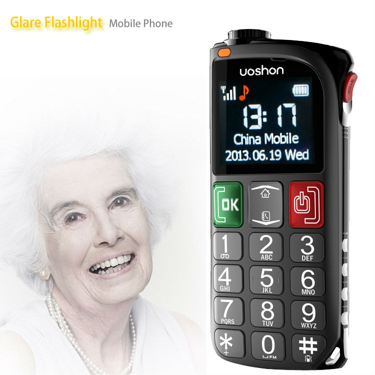 seniors phone in loud speaker cell phone with high volume hearing aid old people mobil phone