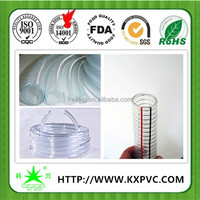 Quality products flexible pvc spring hose China manufacturer , free asian tube