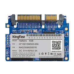 Original Brand Kingfast SLC 4GB Half Slim Wide Temperature & Military SSD Hard Drive