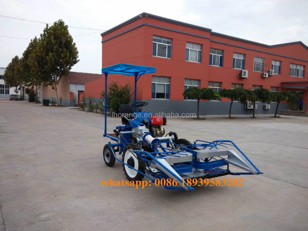 New design rice wheat reaper binder bundling paddy cutting machine with seat
