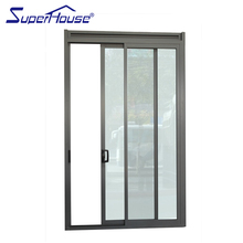 Fancy aluminum front decorative glass storm doors without frame China manufacturer