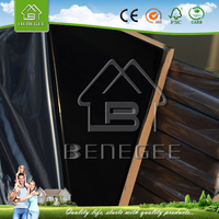 high quality UV MDF with plastic protective film