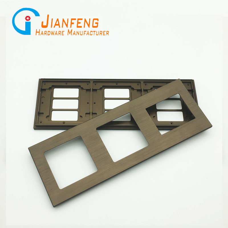 Customized aluminum alloy milling parts with CNC processing