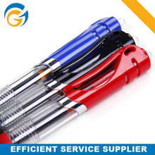 Big Transparent School 1.0 Novel Ballpoint Pen Blue and Red