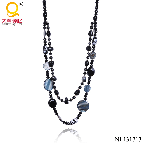 beaded necklace costume jewelry in korea