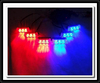 3x6 led flash car led strobe lights