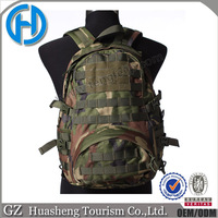Hot sale woodland military Molle backpack convertible bag