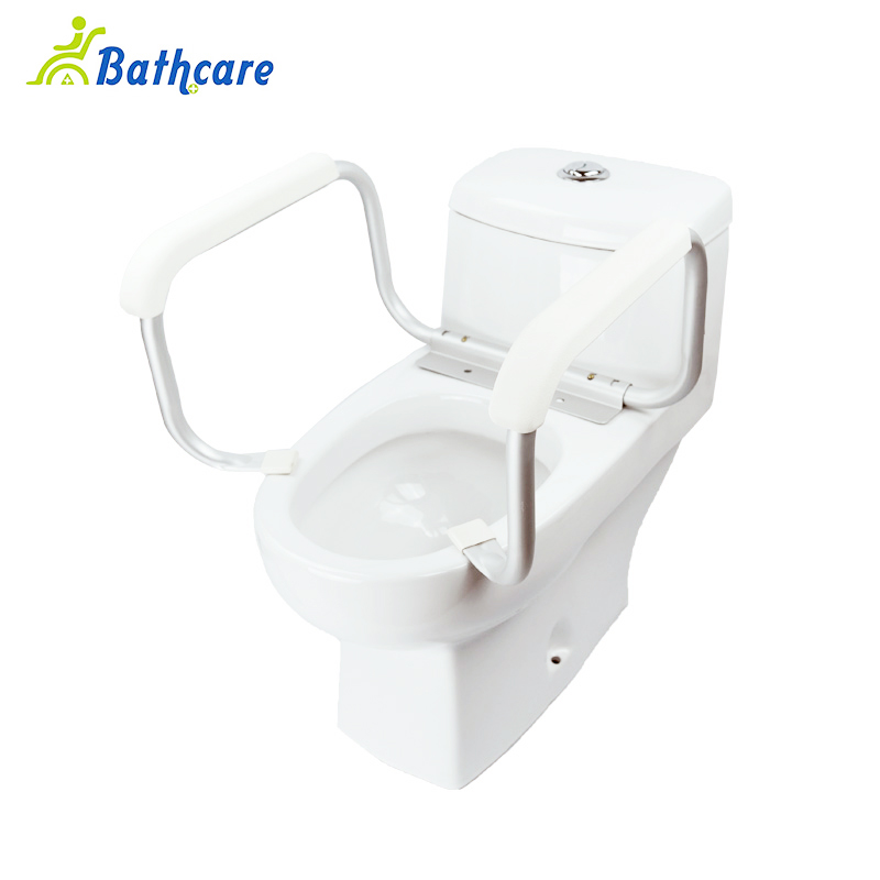 Restroom Aid Commode Toilet Rail Safety Handrail For Disabled - Buy ...