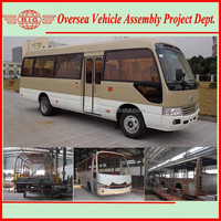25 Seats Mini Toyota Hiace Bus Color