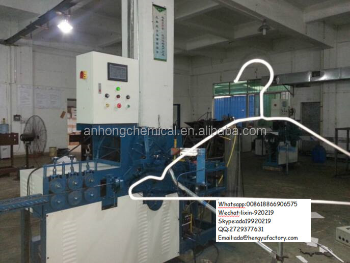 Factory automatic used wire hanger making machine/clothes hanger machine 0086-18866906575