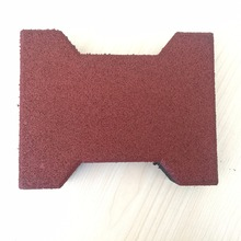 Sidewalk interlocking mat rubber mould paver