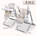 2018 new model Europe Standard EN14988 2 in 1 High Chair with Baby Swing(TY868)
