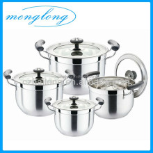 High Quality Stock Pot Set / Cooking Pot Set / Stainless Steel Pot Set