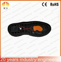 3.7V silicone heaters for heated shoes