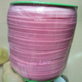 Factory supply high quality 5/8'' fold over elastic in 102solid colors hair bands by yards in spool