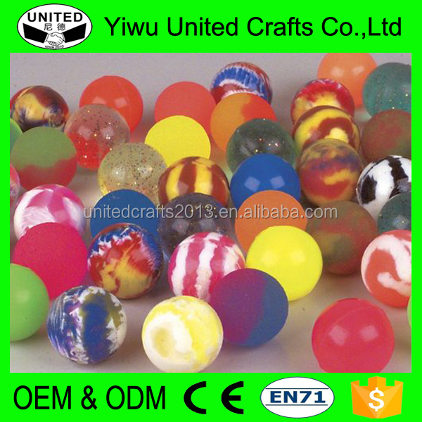 Different type custom solid hi bouncing soft rubber ball