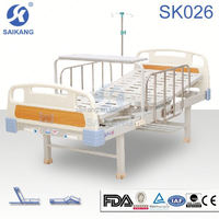 SK026 Stainless Steel Up/Down Hospital Bed