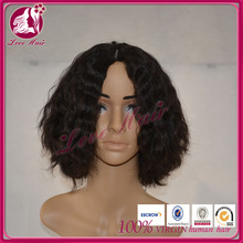 Wholesale Price Stable Quality 100% Remy Black bob style human hair wig