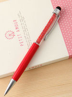 hot selling logo customised good quality small MOQ colorfull touch screen multi-functional ballpoint pen