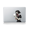 China good quality pvc removable color zombie decals laptop die cut sticker skins for macbook 15 computer