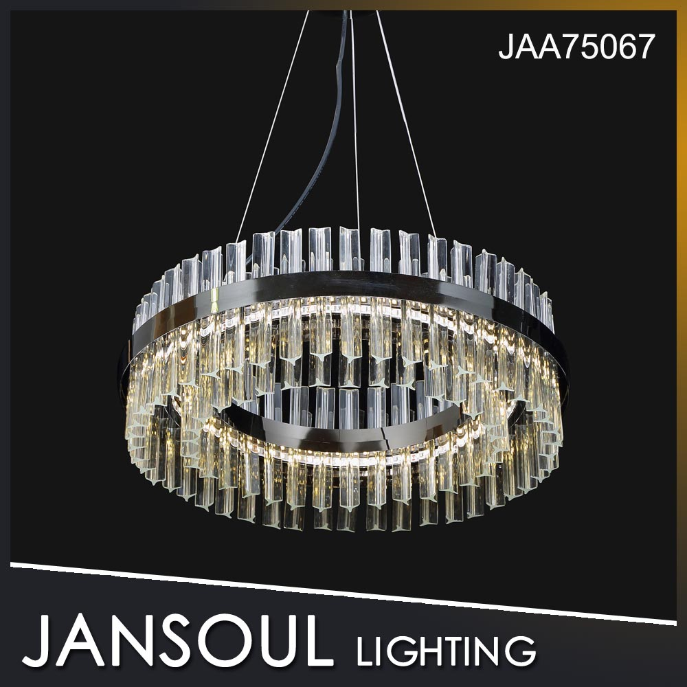 Jansoul Best Sale Contemporary Upscale Indoor Lighting Clear Chandelier for Dining Room or Hotel Bar