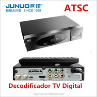 Best-selling Digital HD 1080P ATSC Set Top Box MPEG4 HDTV ATSC TV Decoder