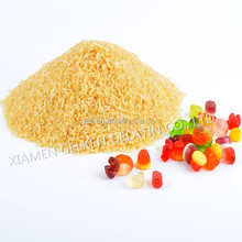 Edible gelatin used in food industry