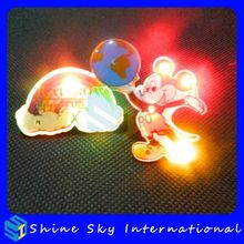 Top Grade Best Sell Mickey Led Pin For Holiday