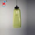 hand blown green color painted borosilicate glass pendant lamp /lampshade in glass