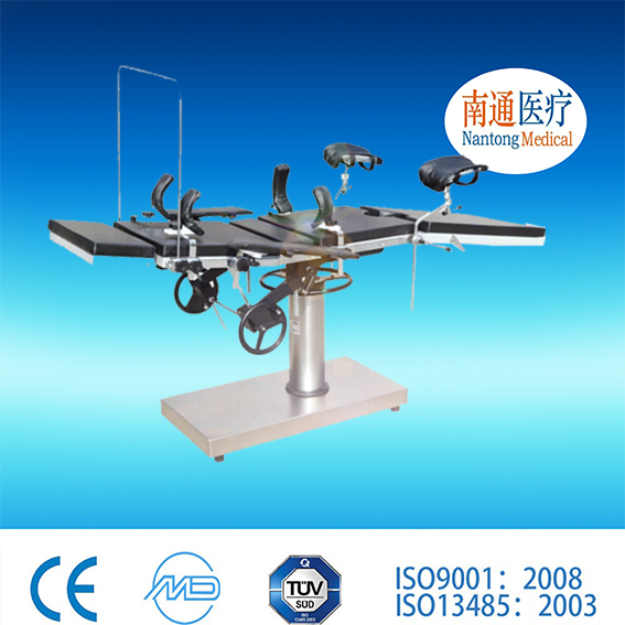 Top 3 factory! Nantong Medical Electro Hydraulic X-ray &amp C-arm operation tables with Linak motor of ISO9001 Standard