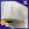 Supply self adhesive packaging label roll sticker printing free design