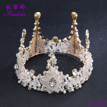 WQ Hot sale attractive style quality diamond bridal tiara wedding hair accessories crown